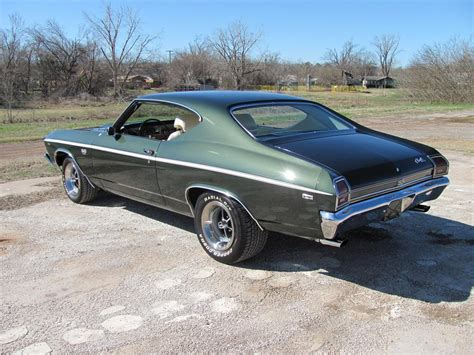 1969 chevrolet chevelle ss 396 coupe 89289