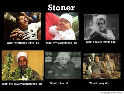 Stoner Meme - stoner what my friends think i do weknowmemes