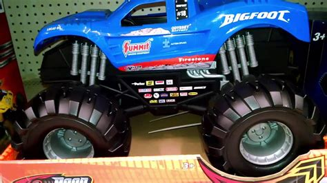bigfoot monster truck model road rippers big foot monster truck large toy toy