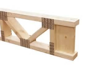 wood floor l plans 18 quot x 24 2x4 trimmable wood floor truss at menards