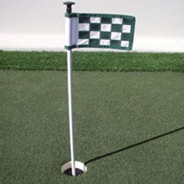 golf flags and golf cups for artificial grass backyard