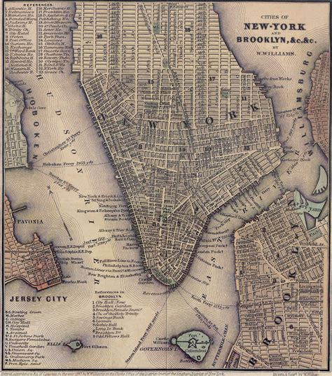maps of nyc historical nyc map new york city historical