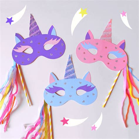 How To Make Paper Unicorn - diy for the tween unicorn masks 123 pre k