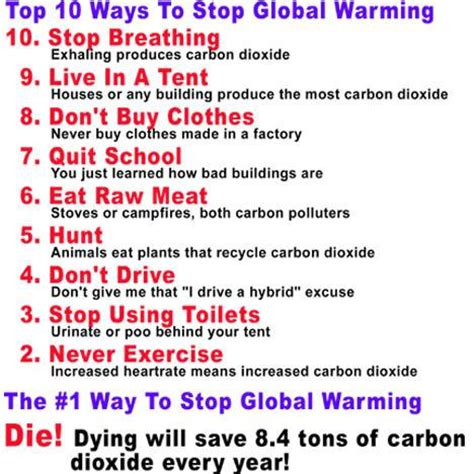 how to avoid my in ten simple steps pocket edition books according to global warming extremists