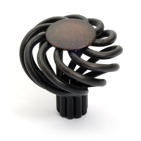 Birdcage Cabinet Knobs And Pulls by Rubbed Bronze Birdcage Cabinet Hardware Knobs And