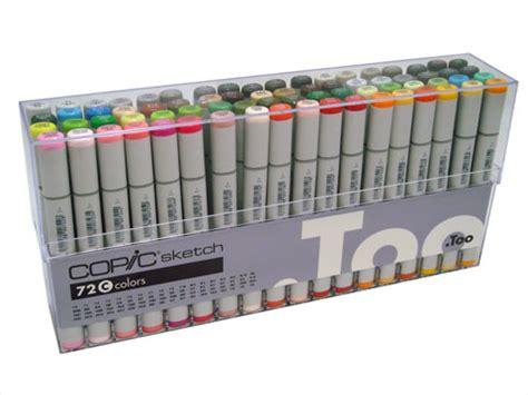 copic marker 72 pcs set c copic markers original set c 72 pc copic pens markers
