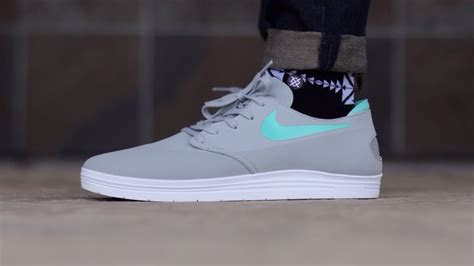 nike sb lunar  shot crystal mint  feet youtube