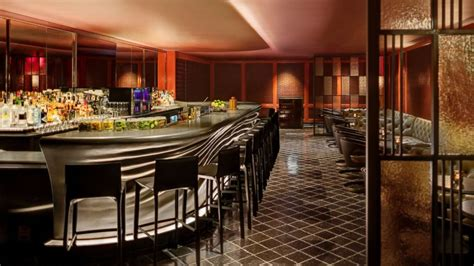 bar stools fresno intrumpsamerica us posh hotel bar pays tribute to helmsley s pooch abc news