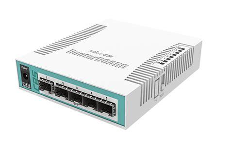 Mikrotik Rb260gs Switch Gigabit 5 Port Sfp Port Swos mikrotik cloud router switch crs106 1c 5s complete 5 sfp ports plus 1 combination port 10 100