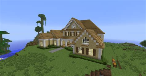 minecraft house wooden i the simplicity the contrasts and that pretty front porch