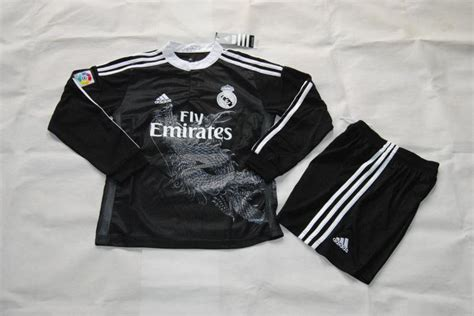 Madrid Away 14 15 real madrid 14 15 black away soccer kit shirt shorts