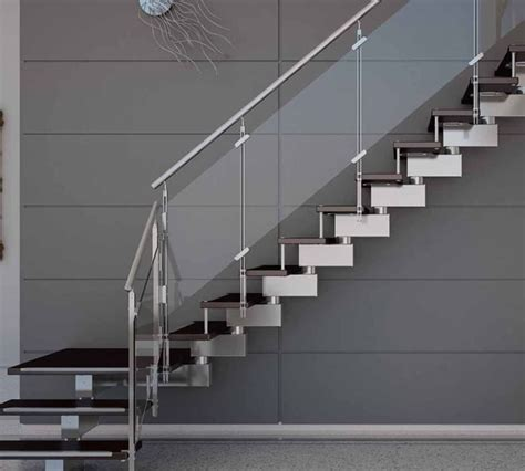 fitting banister spindles stainless steel railings glass handrails installation