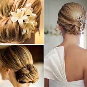 Hairstyle the classic chignon with a new twist for long hair