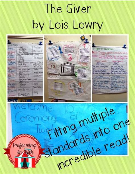 themes in book the giver the giver and how novel study turned my students into