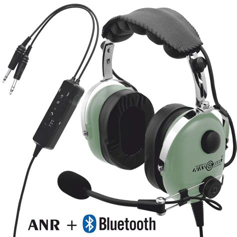 Headset Air deluxe aviation headset with anr and bluetooth