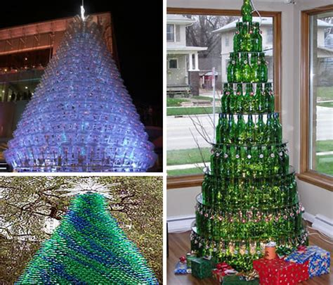 18 clever christmas trees created with recycled materials