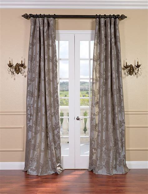 pewter silk curtains pinterest the world s catalog of ideas