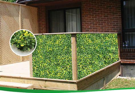 Garden Decorative Bushes by Small Decorative Outdoor Artificial Bushes Garden Fence