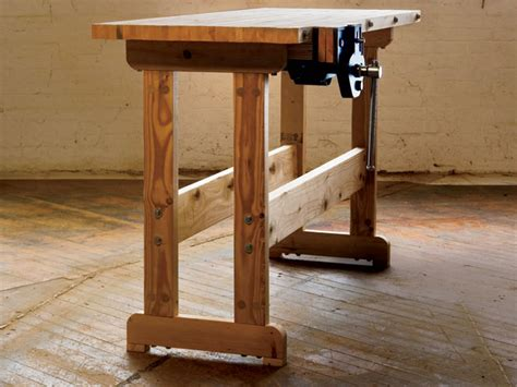 Mini Bench Vice Cool Diy Woodworking Bench How To The Shelter Blog