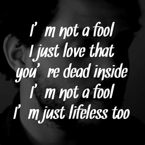 weeknd lyrics the weeknd wicked games quotes quotesgram