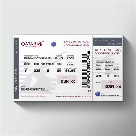 ticket bid large airline tickets order novelty printed airline