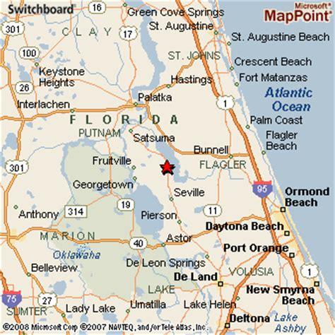 crescent florida map crescent city florida