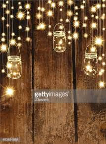 western string lights country and western invitation design template jar and