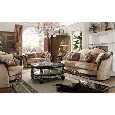 Dining Room Sets With Hutch Hd 136 Homey Design Traditional Sofa Set Living Room