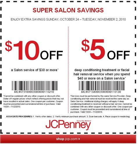 jcpenney hair salon price list jcpenney hair salon coupons jcpenney coupons