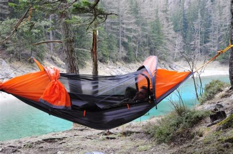Bivy Hammock Tent it s a hammock it s a bivy it s a flying tent the gearcaster