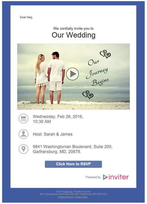 email wedding invitations how to send a wedding invitation