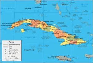 Map Of Florida And Cuba by Cuba Map And Satellite Image