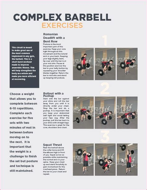 barbell complex simple barbell complexes go or go home