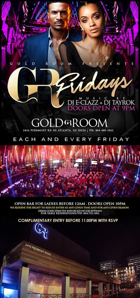 gold room atlanta dress code friday the gold room atl tickets dates eventbrite