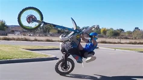 trials motocross insane dirtbike trials stunts with youtuber joey mac