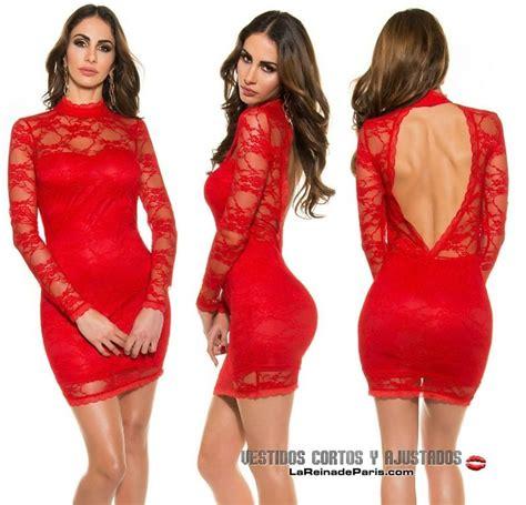 vestidos rojos de encaje cortos comprar vestido rojo ajustado encaje