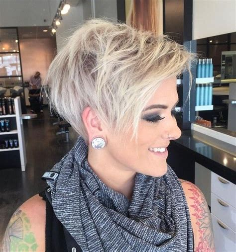 platinum hair color and cuts for over 50 women pictures adorable pixie haircut ideas with bangs platinum pixie