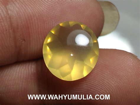 Opal Wonogiri Hijau batu permata opal kuning lemon asli kode 540 wahyu