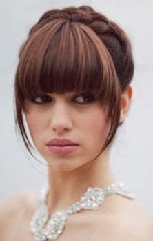 Wedding Hairstyles For Medium Length Hair With Fringe by The World S Catalog Of Ideas