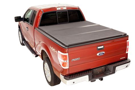 pickup truck bed cover kv8802 hard tri folding tonneau cover truck bed locking