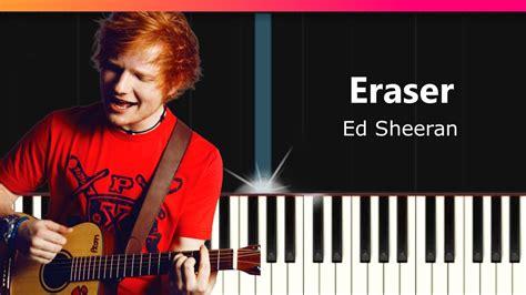 ed sheeran eraser ed sheeran quot eraser quot piano tutorial chords how to