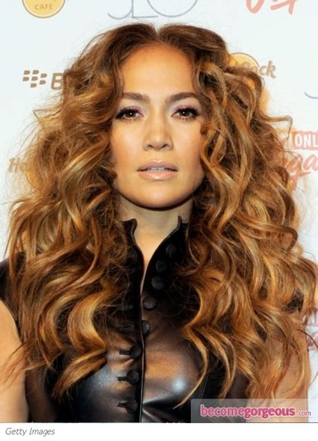 hairstyles with lots of color messy curly hairstyles