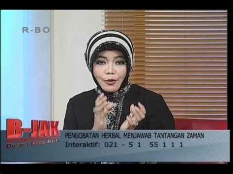 Obat Herbal Tramedica jeng bicara pengobatan herbal di acara b jak jak tv