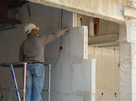 Brique Beton Cellulaire by Mur En Beton Cellulaire Brique En Bton Cellulaire Ytong