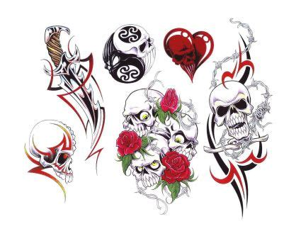 Small Mother Daughter Tattoos Rose Skull Heart N Dagger Tattoo Designs Photos