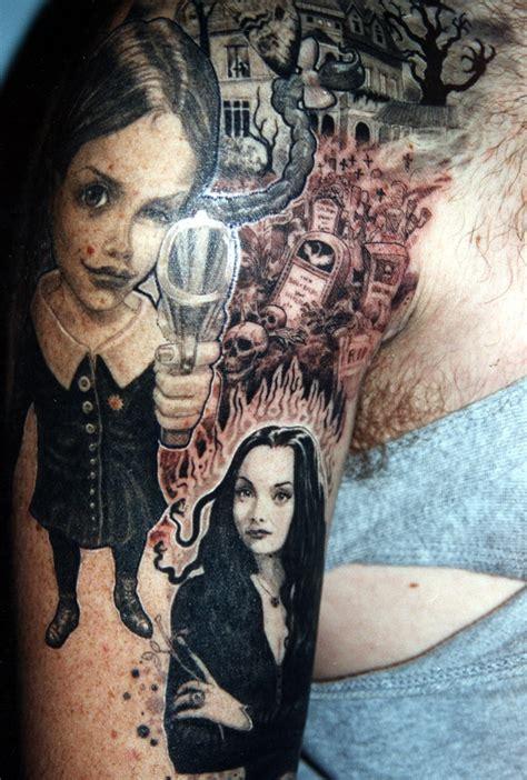 family values tattoo featured on addams family values tattoo