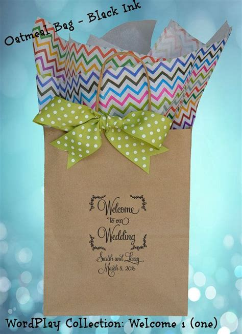 Wedding Guest Gift Bags – Best 25  Wedding gift bags ideas on Pinterest   Wedding