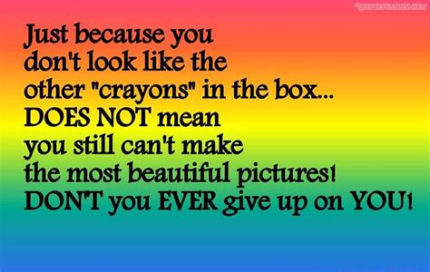 Because No One Likes Looking At by Quotes About Crayons Quotesgram