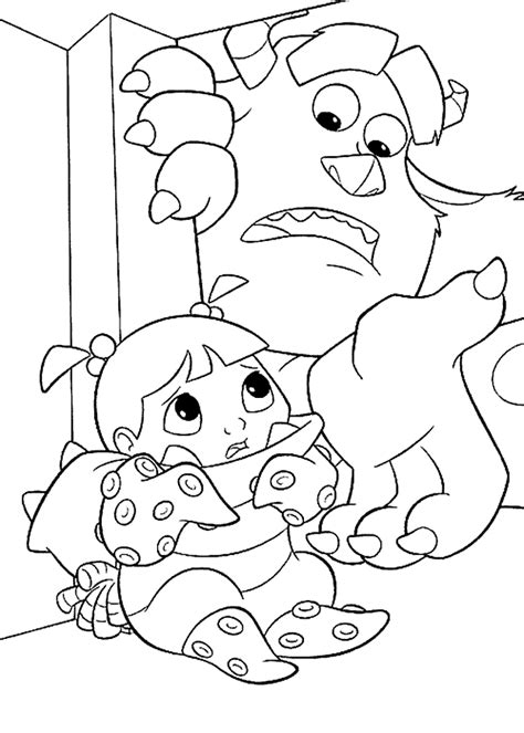 coloring page monsters inc coloring pages 6