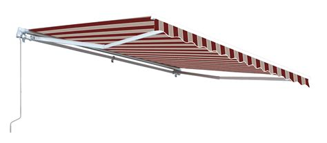 aleko awning aleko retractable patio awning multistripe red color